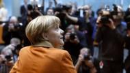 Bundeskanzlerin Angela Merkel als Zeugin vor dem NSA-Untersuchungsausschuss