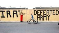 Graffiti in der nordirischen Stadt Londonderry.