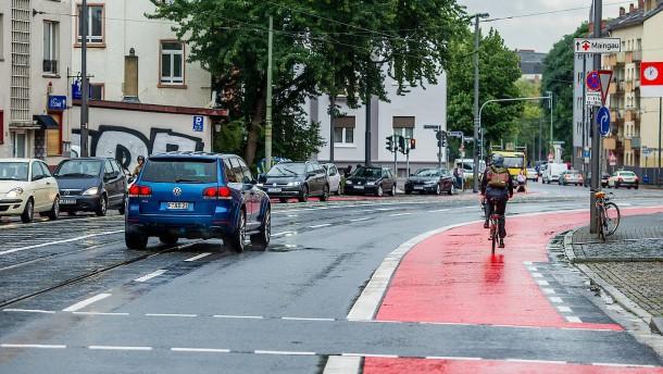 Der Radweg nutzt nicht nur Radlern