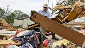 Tornado wütet in  Texas