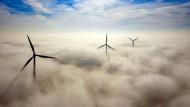 Windräder in Nordrhein-Westfalen