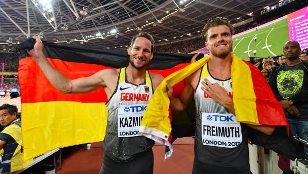 Silber und Bronze für deutsche Zehnkämpfer