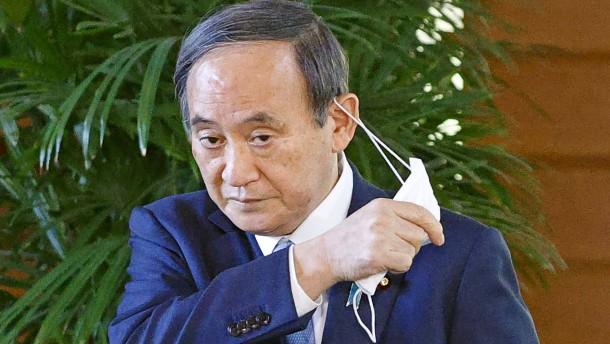 Japans Ministerpräsident unter Druck