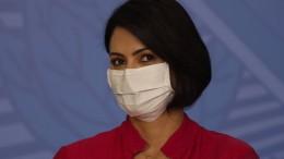 Auch Bolsonaros Frau mit Coronavirus infiziert