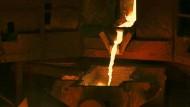 Kupferhütte in Russland