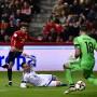 Fußball für Genießer: Spaniens David Silva trifft im Spiel gegen Israel zum 1:0.