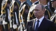 Putin gedenkt russischer Weltkriegsopfer