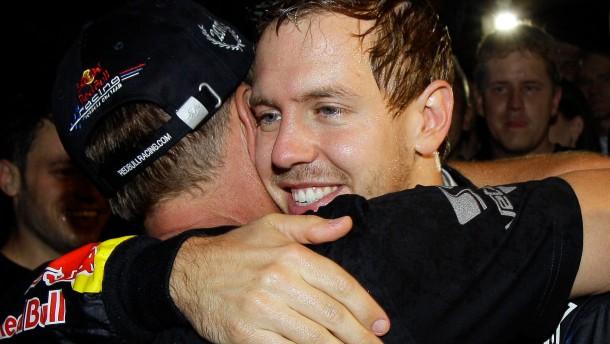 Sebastian Vettel wieder Weltmeister