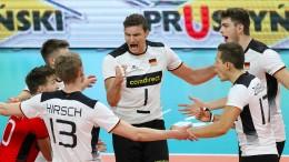 Deutsche Volleyballer nach Fehlstart zurück in der Spur