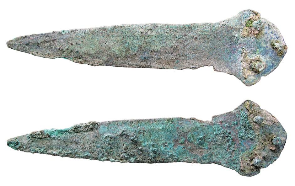 So ein Dolch durfte in keinem argarischen Kriegergrab fehlen.