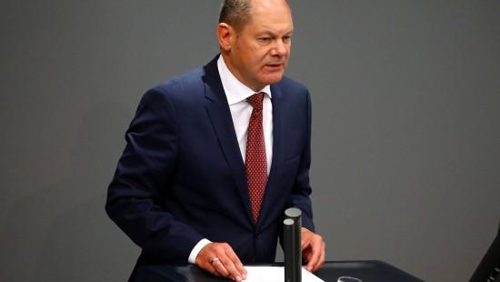 Scholz will an Haushaltspolitik festhalten