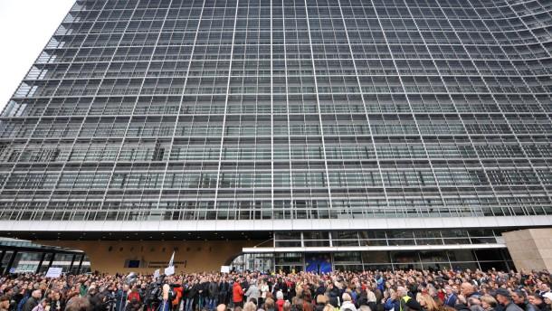 BELGIUM-EU-STRIKE