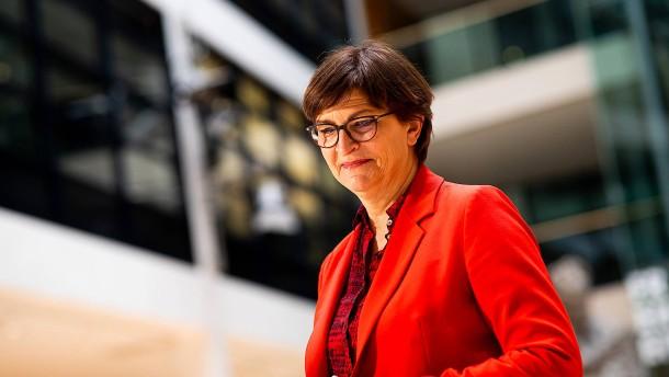 SPD will mehr Geld für Hilfsbedürftige in Corona-Krise