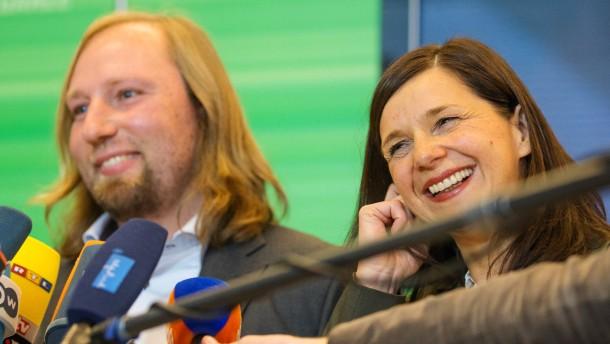 Göring-Eckardt und Hofreiter führen Grünen-Fraktion