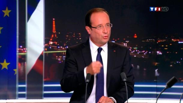 Hollande kündigt drastische Steuererhöhungen an