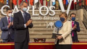 Merkel mahnt Europa zur Zusammenarbeit
