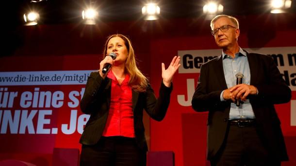 Linke muss um Wiedereinzug in den Bundestag bangen