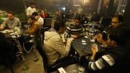 Nachtleben im zerstörten Aleppo
