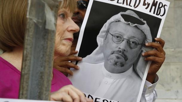 Fall Khashoggi: Im Weißen Haus steigt der Druck auf Trump