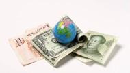 Sie haben Konkurrenz bekommen: die herkömmlichen Währungen müssen sich nun auch mit Kryptogeld messen