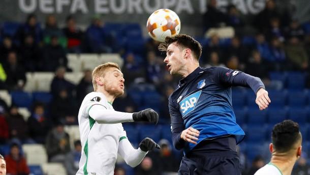 Europa League: 1899 Hoffenheim trennt sich unentschieden gegen Rasgrad