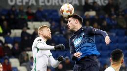 Hoffenheim verabschiedet sich mit Unentschieden