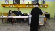 Abstimmung über die europäische Sparpolitik