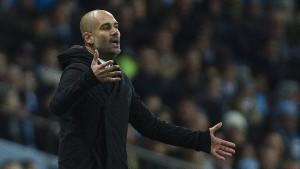 Guardiola und Manchester droht der Absturz