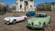 Mit Giuletta gegen BMW