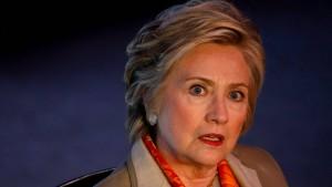 Clinton nennt zwei Schuldige für ihre Wahlniederlage