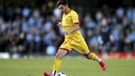 Ist stolz schwul zu sein: Josh Cavallo im Trikot von Adelaide United