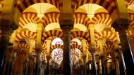 Reminiszenz des mittelalterlichen Islam in Europa: die Moschee von Cordoba