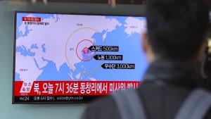 Amerika beginnt mit Stationierung von Raketenabwehr