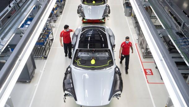Arbeitsplatzsicherheit für Porsche-Mitarbeiter