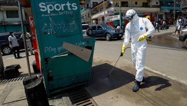 """Behörden in Guinea sprechen von """"Epidemie"""""""