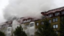 Mehrere Verletzte bei Explosion in Göteborg