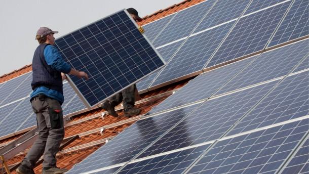 Roesler legt Gesetzentwurf zu Solarfoerderung vor