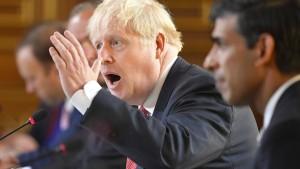 Johnson droht mit No-Deal-Brexit
