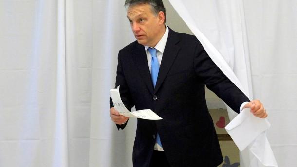 Viktor Orban ist klarer Sieger der Parlamentswahlen