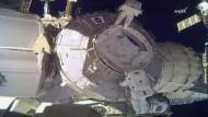 Missgeschick auf der ISS: Schutzschild verschwindet im Weltall