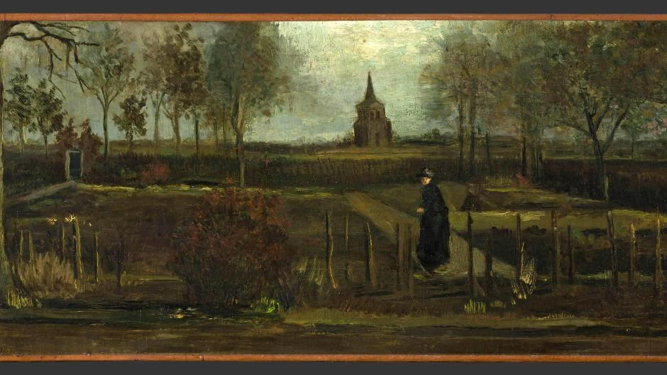 Gestohlen: Frühlingsgarten (1884) von Vincent van Gogh