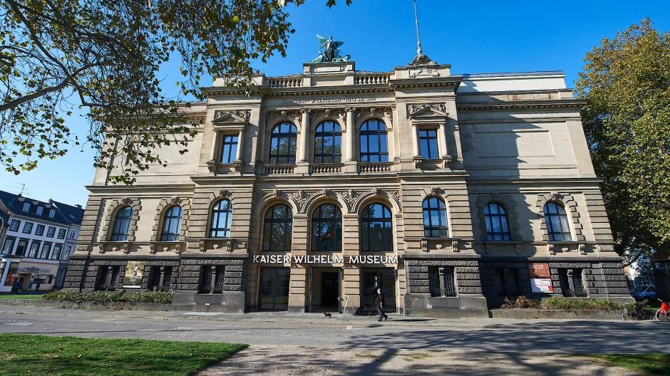 Das Krefelder Kaiser-Wilhelm-Museum, in dem die Mondrians ausgestellt sind.