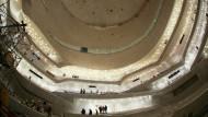 Imposante Architektur, die am Ende auch gut klingen soll: Der große Saal der Elbphilharmonie in Hamburg