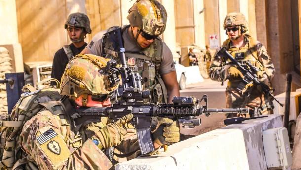 Washington schickt Hunderte Soldaten als Verstärkung nach Bagdad