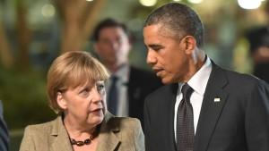 Merkels Friedensdiplomatie