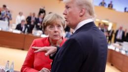 Trump ist in Europa für alles der Buhmann
