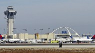 Der Flughafen Los Angeles