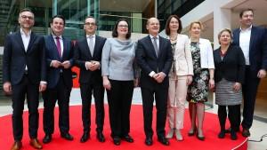 Heil wird Arbeitsminister, Barley Justizministerin