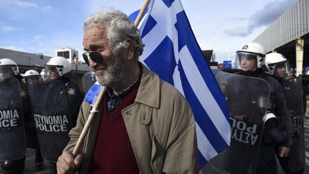 Griechisches Parlament verschiebt Abstimmung