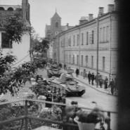 Panzer auf den Straßen von Kaunas: Am 15. Juni 1940 marschierte die Rote Armee in Litauen ein.